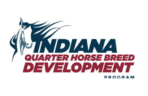 Indiana Quarter Horse Breed Development Logo