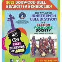 Elegba Folklore Society Dogwood Dell Juneteenth Performance