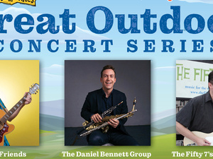 The Daniel Bennett Group returns to Harford County on Saturday, July 10, for a jazz concert from 4 to 5 p.m. at Shamrock Park in Bel Air.