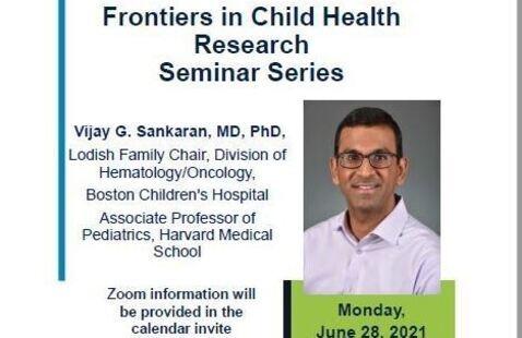 Frontiers in Child Health Research Seminar Series