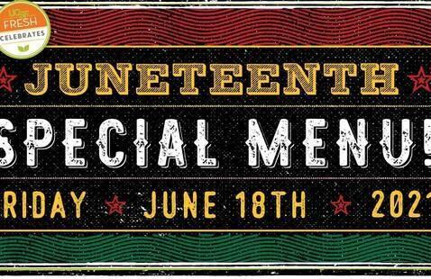 Juneteenth Food Celebration @ Moffitt Cafe