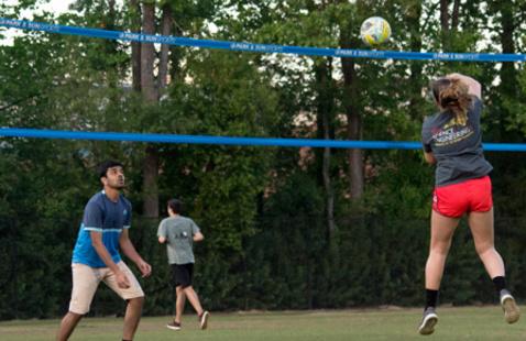 Intramural Sports Grass Volleyball Tournament