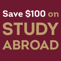 Save $100 on study abroad