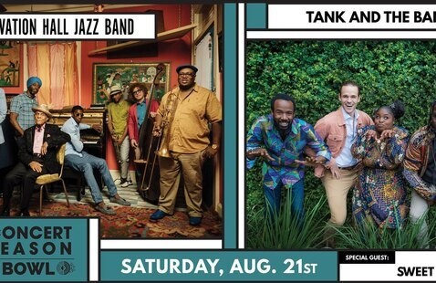 Preservation Hall Jazz Band & Tank and the Bangas with special guest Sweet Crude