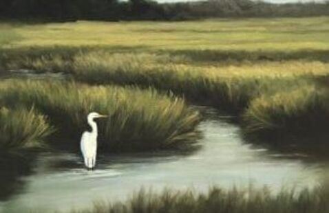 Painting by Patty Grew-Mullins