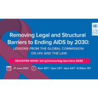 Removing Legal and Structural Barriers to Ending AIDS by 2030: Lessons From the Global Commission on HIV and the Law