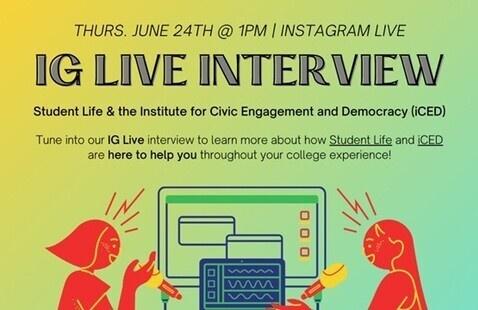 Instagram Interview: Student Life & iCED