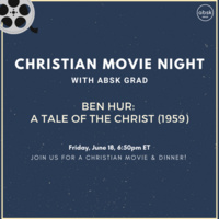 Dinner and a Movie with ABSK Grad