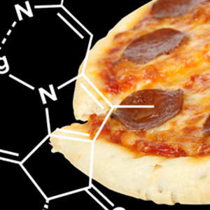 Pizza under scientific structure