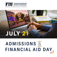 FIU Business Virtual Admissions and Financial Aid Day