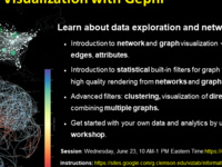 Information Visualization with Gephi