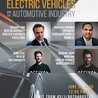 TATA-MISTI Summer Series: Electronic Vehicles and the Automotive Industry