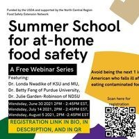 Summer School At-home Food Safety