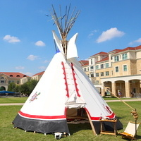 Tipi in Campus Commons
