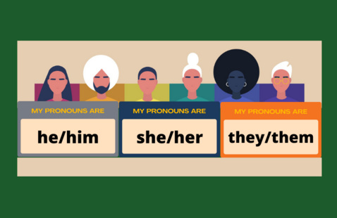 A Conversation on Gender and Pronouns with Claire Oueslati-Porter PhD