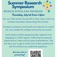 McNair Research Symposium