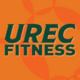 UREC Fitness in UTD Green with an orange background