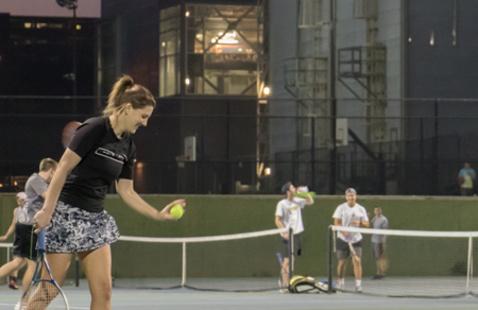 Intramural Sports Tennis Singles Tournament