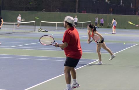 Intramural Sports Tennis Doubles Tournament