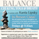 In-Person Balance Class