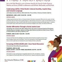 Center for Gems Pride Month Series: Screening of DISCLOSURE with 1-hour Panel Discussion