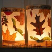 Take & Make: Leaf Lanterns