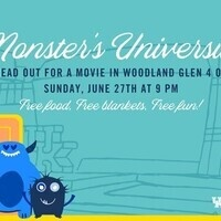 Movie in the Courtyard: Monsters University