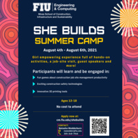 She Builds Summer Camp