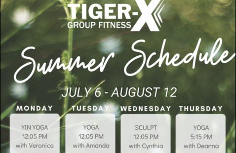Tiger X Class: Yoga