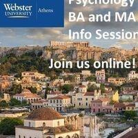 BA & MA PSYCHOLOGY Zoom Info Session