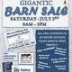 Gigantic Barn Sale