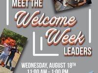 Meet the Welcome Week Leaders