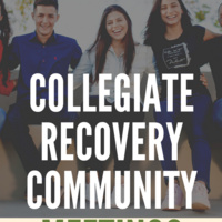 Collegiate Recovery Community Meeting: Getting in Touch with the Inner Child