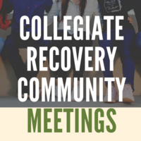 Collegiate Recovery Community Meeting: Letter to Yourself