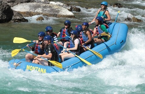 Tiger Escape: Whitewater Rafting