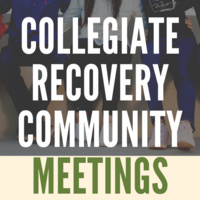 Collegiate Recovery Community Meeting: Exploring Social Anxiety