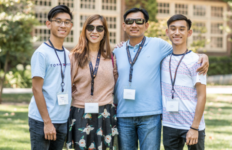 Family Member Monday: Transition to Life with a Pacific Student