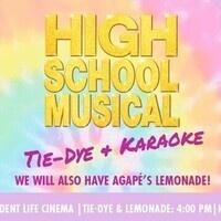 High School Musical Karaoke & Tie Dye