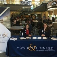Mowery & Schoenfeld Barsema Hall Meet & Greet Table