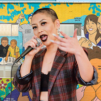 Art, Identity, and Power: An Evening with MC Rocky Rivera and Muralist Audrey Chan