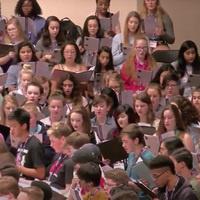 Choir camp participants