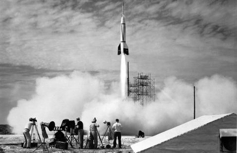 V-2/Bumper launch in 1950 (Image credit: NASA)