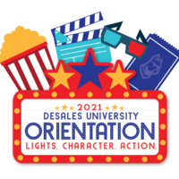 desales 2021 orientation, lights, character, action