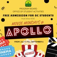 Movie Mondays at Apollo