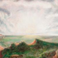 Sunrise over Kansas: John Steuart Curry