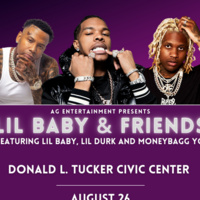 Lil Baby, Lil Durk and Moneybagg Yo @ the Tucker Center