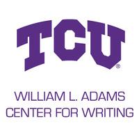 Writing center word mark