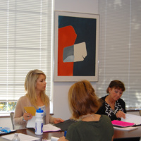 Students in writing bootcamp