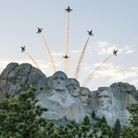 4th of July B-1 Bomber Fly Overs