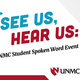 See Us, Hear Us: A UNMC Student Spoken Word Event